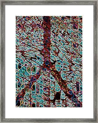 Jolly Ranch Are Peace Framed Print by Robert Haigh