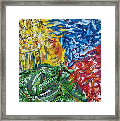 Jolly Seasons Framed Print