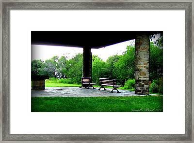 Framed Print featuring the photograph Jollycut Park by Danielle  Parent