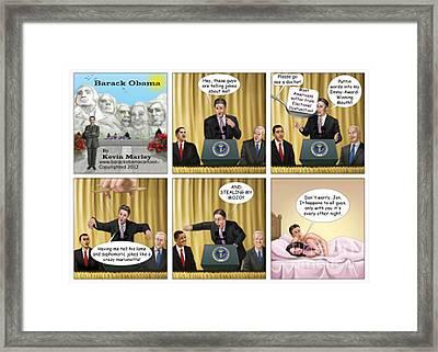 Jon Stewart Iv Framed Print