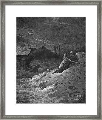 Jonah & The Whale Framed Print by Granger
