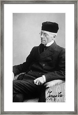 Jonas Lie (1833-1909) Framed Print
