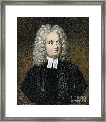 Jonathan Swift (1667-1745) Framed Print by Granger
