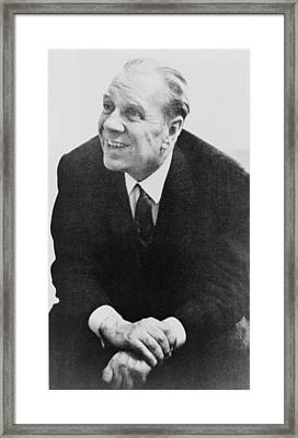 Jorge Luis Borges 1899-1986, The Great Framed Print by Everett