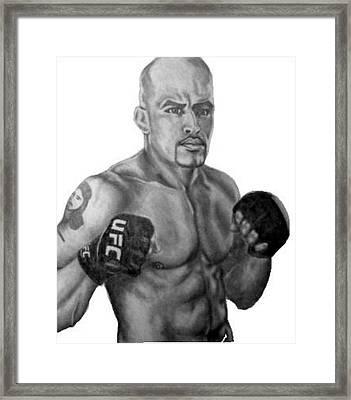 Jorge Rivera Framed Print by Audrey Snead
