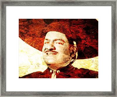 Jose Alfredo Jimenez Framed Print