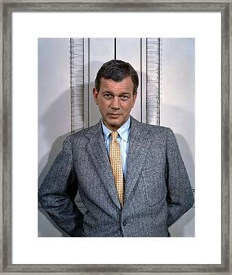 Joseph Cotten, 1950s Framed Print by Everett