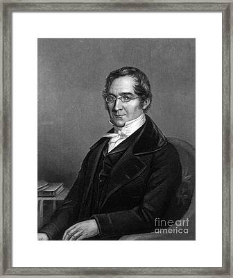 Joseph Gay-lussac, French Chemist Framed Print by Science Source