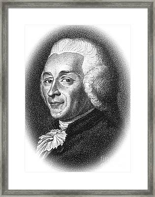 Joseph-ignace Guillotin, French Framed Print by Science Source