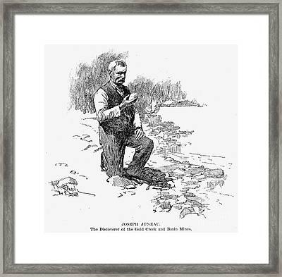 Joseph Juneau (1826-1899) Framed Print