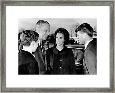 Joseph Kennedy, U.s. Ambassador General Framed Print by Everett