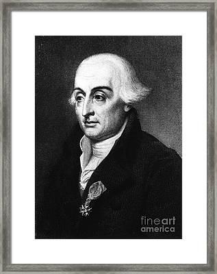 Joseph-louis Lagrange, European Framed Print by Science Source