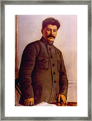 Joseph Stalin 1879-1953 Framed Print by Everett