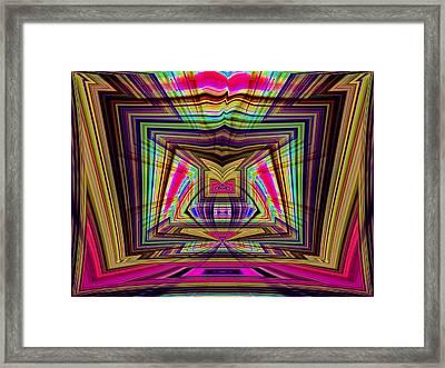 Josha No.8 Framed Print by Danny Lally