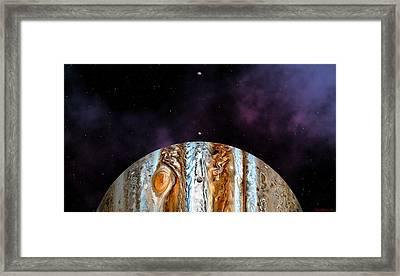 Jovian Giant Framed Print