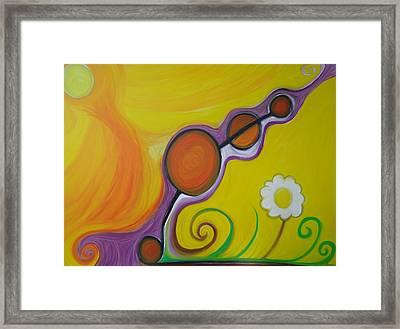 Joy - The Emotion Of Great Happiness. Framed Print by Cory Green