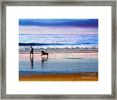 Joy Framed Print by Alene Sirott-Cope