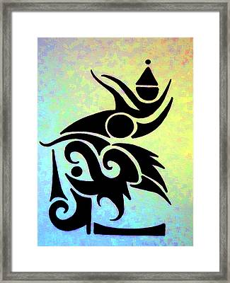 Joy Ascention Framed Print