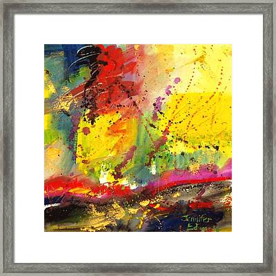 Joy Comes In The Morning Framed Print