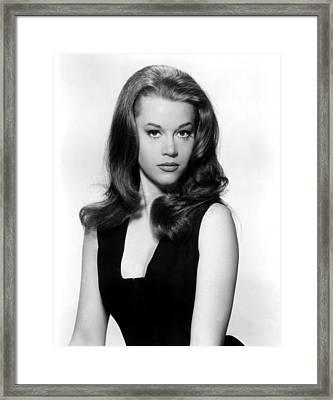 Joy House, Jane Fonda, 1964 Framed Print