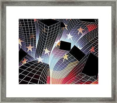 Joy In The City Framed Print