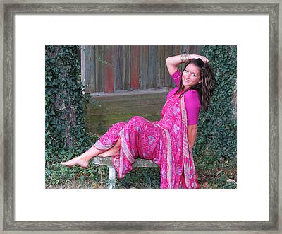 Joy Of Life Framed Print