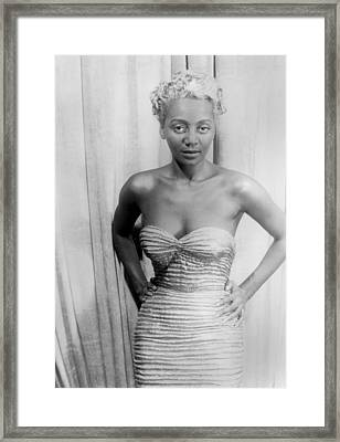 Joyce Bryant, African American Singer Framed Print by Everett