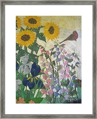 Joys Of Nature Framed Print