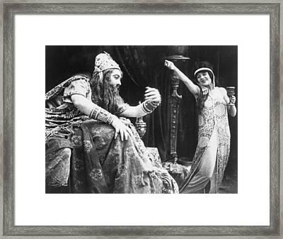 Judith Of Bethulia 1913-14 Framed Print by Granger