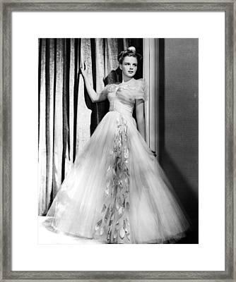 Judy Garland, Ca. 1940s Framed Print