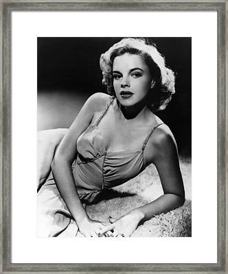 Judy Garland, Ca. Early 1940s Framed Print by Everett