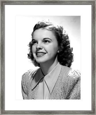 Judy Garland, Portrait Framed Print