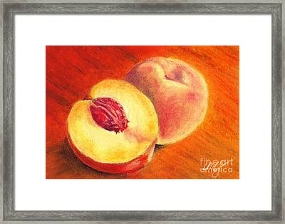 Juicy Fruit Framed Print by Iris M Gross