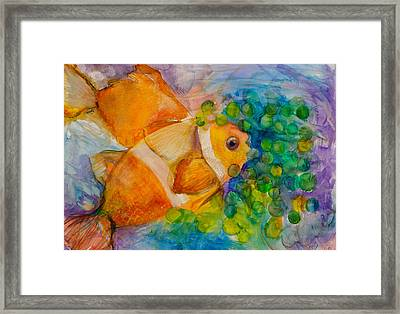 Juicy Snack IIi Framed Print
