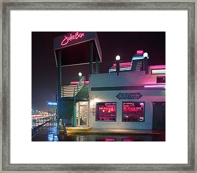 Juke Box Framed Print
