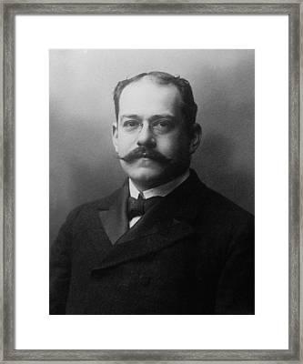 Jules Bache 1861-1944 Framed Print by Everett