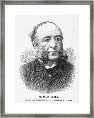Jules Ferry (1832-1893) Framed Print by Granger
