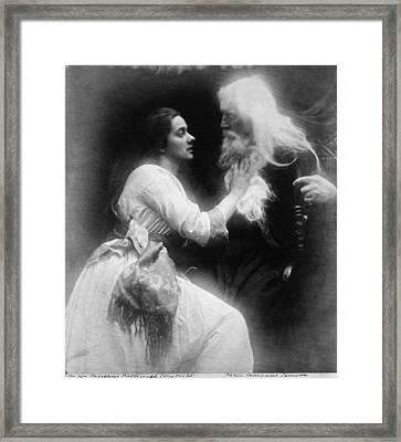 Julia Margaret Camerons 1815-1879 Framed Print by Everett