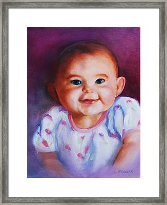 Julianne Framed Print by Peggy Wrobleski