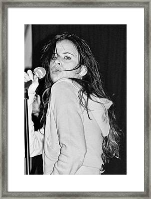 Juliette Lewis Framed Print