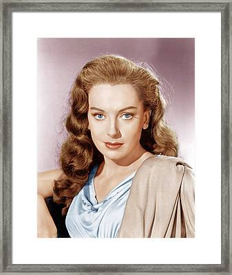 Julius Caesar, Deborah Kerr, 1953 Framed Print by Everett