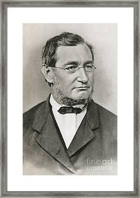 Julius Robert Von Mayer Framed Print by Photo Researchers