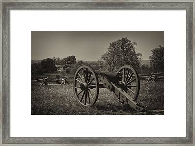 July 1 1863 Gettysburg Framed Print by William Jones