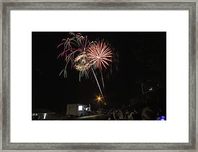 Framed Print featuring the photograph July 4th 2012 by Tom Gort