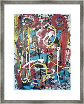 July 9 2012-1 Framed Print by Gustavo Ramirez