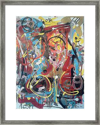 July 9 2012-2 Framed Print by Gustavo Ramirez