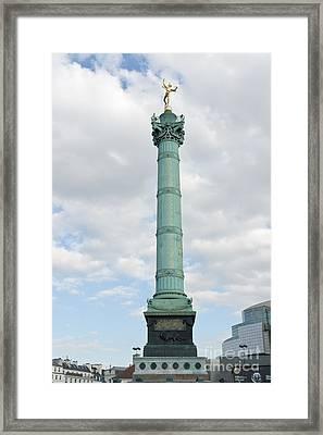 July Column I Framed Print by Fabrizio Ruggeri