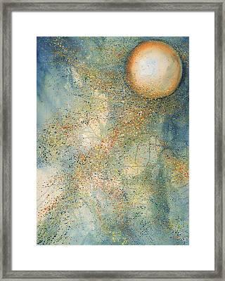 July Full Thunder Moon Framed Print by Robin Samiljan