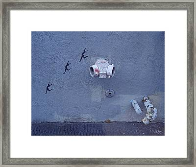 Jump For Joy In New Orleans Framed Print