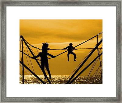 Jump For Joy Framed Print
